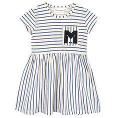 Mini Rodini Stripe Short Sleeve Dress
