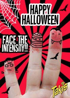 Ready for Halloween!! #Takis