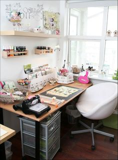 decor, craft space, room crafts, studio space, craftroom