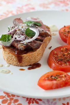 #Epicure Steak Sandwich