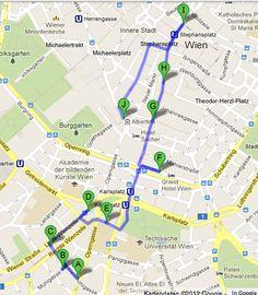 Angel of Berlin: [explores...] Vienna - Naschmarkt und Kärntnergasse