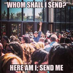 Here am I. Send me!  #amarillo #tx #bluprint #amarilloforchrist #apc