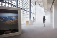 『「グリーンランド」 中谷芙二子+宇吉郎展』展示風景 Photo credit: ©Nacása & Partners Inc. / Courtesy of Fondation d'entreprise Hermès
