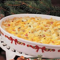 creamy hash brown bake