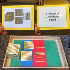 Place Value, building numbers