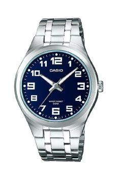 CASIO MTP1310D2BVEF - Reloj de caballero de cuarzo, correa de acero inoxidable color plata
