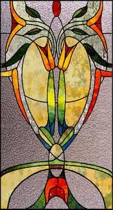 stained glass art deco - Google Search