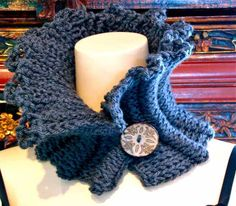 Crochet Designers Throw Their Cowl Patterns into the Ring (so to speak)