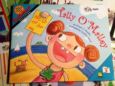 book for tally marks- blog post has great tally lessons