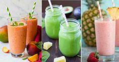 Máte slabé nehty nebo vlasy? Nejspíše trpíte nedostatkem některé z látek, které tělo potřebuje! Po vypití těchto zázračných nápojů budete mít nehty krásné. Raw Food Recipes, Grapefruit, Cantaloupe, Smoothies, Detox, Health, Fitness, Image, Pineapple