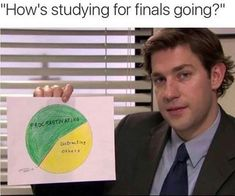 Check out our 27 funny memes about studying. If you have exams coming up and you are looking at memes you will relate to these funny studying memes. Uni Humor, College Humor, College Life, Tired Humor, Finals Week Humor, Bible College, Funny College Quotes, College Song, College Memes