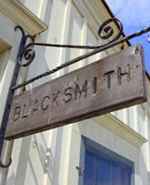 Barrington Blacksmith sign.