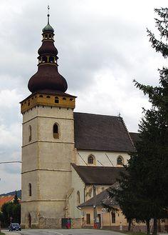 Slovakia, Štítnik - Lutheran Church