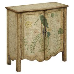 Found it at Wayfair - Etham Cabinet in Green & Parchment