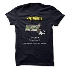 SPRINGFIELD MASSACHUSETTS born in springfield T Shirt, Hoodie, Sweatshirts - custom t shirt #tee #style