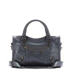 Balenciaga Classic Mini City tote in Anthracite