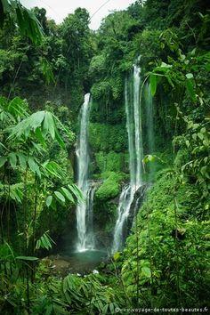 Bali - chutes d'eau de Sekumpul