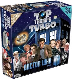 Doctor Who 50th Anniversary Top Trumps Turbo