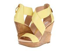 Diane Von Furstenberg Opal Banana Cream Soft Vacchetta - Zappos Couture