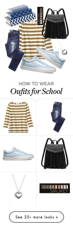 """school round"" by mrsstyler45 on Polyvore featuring Toast, Vans, Pandora, Forever 21, women's clothing, women, female, woman, misses and juniors"