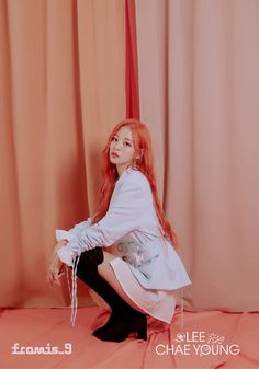 """lee chaeyoung pics on Twitter: """"♥︎⇢ from.9 official photo ⋆⑅˚₊  #이채영 #leechaeyoung #fromis_9… """""""