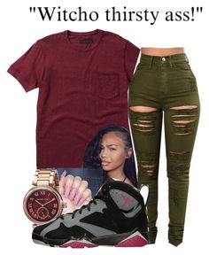 """""""Litty Gang ❣"""" by littydee ❤ liked on Polyvore featuring Dr. Martens and Michael Kors"""