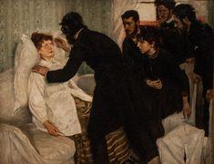 Richard Bergh (1858-1919), Séance d'Hypnose - 1887