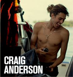 My most favorite surfer. I absolutelly love his sick style. Craig Anderson, Surfer Guys, Surfer Style, Learn To Surf, Most Favorite, Cute Boys, Love Him, Summer Time, Pop Culture