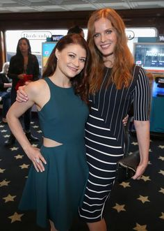 @/bexmader Love this photo of you and @/emiliederavin #Bexilie #SDCC2015