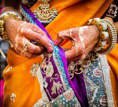 A Calcutta Wedding with a long distance love story: Ishana and Abhijay