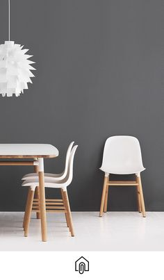 Form Chair and Form Table by Simon Legald for Normann Copenhagen.