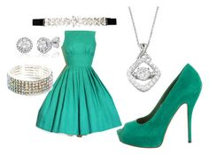"""""""prom"""" by kate-roxanne-2021 ❤ liked on Polyvore featuring City Chic, DiamonLuxe Crystal and Gucci"""