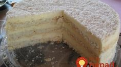 Úžasná RAFAELLO torta hotová za 30 minút: Na ňu nemajú ani dezerty z cukrárne! Czech Desserts, Köstliche Desserts, Delicious Desserts, Sweet Recipes, Cake Recipes, Dessert Recipes, German Torte Recipe, Strawberry Torte Recipe, Eastern European Recipes