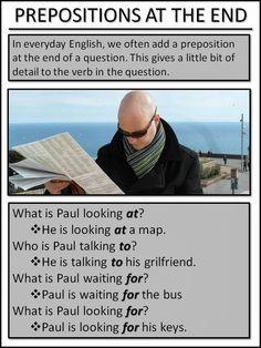 AskPaulEnglish: Elementary (Waystage) Prepositions #esl #tefl #learnenglish