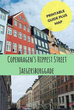 I loved Norrebro, Copenhagen but Jaegersborggade Street had me in awe for hours. So much so, I wanted to share this Guide with map of the area to inspire you! Copenhagen City, Copenhagen Travel, Copenhagen Denmark, Europe Travel Tips, Us Travel, Travel Guides, Hawaii Travel, Italy Travel, Denmark Travel