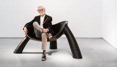Wendell Castle Updates His Sculptural Seating for a New York Invasion - Azure Magazine
