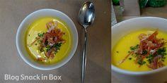 Cold mango soup!!! Fantastic! From a nice portuguese restaurant in São paulo! http://www.snackinbox.com.br/snack-voltou-ao-tasca-da-esquina-em-sao-paulo/