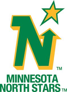 Minnesota North Stars Wordmark Logo on Chris Creamer's Sports Logos Page - SportsLogos. A virtual museum of sports logos, uniforms and historical items. Hockey Logos, Nhl Logos, Sports Team Logos, Hockey Teams, Hockey Stuff, Sports Art, Sports Teams, Minnesota North Stars, Minnesota Wild