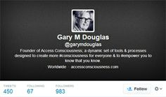 #GaryDouglas wants to inspire everyone to look at their life from a totally different perspective. Follow him on his twitter account.