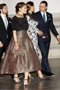 Anything & Everything Royals Princess Victoria Of Sweden, Crown Princess Victoria, Swedish Royals, Every Girl, Sequin Skirt, Royalty, Gowns, Formal, Lady