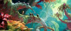 Mais artes de The Croods, agora por Arthur Fong