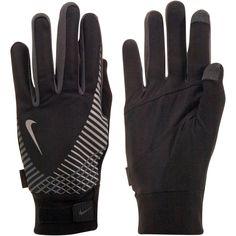 Nike Elite Storm Fit Tech Run Gloves (Mens Fitness Gear)