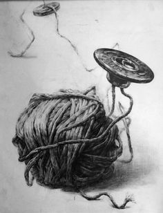 a button by on DeviantArt Academic Drawing, Ap Drawing, Teaching Drawing, Object Drawing, Still Life Drawing, Pencil Art, Pencil Drawings, Graphite Drawings, Button Art