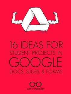 16 Ideas for Student Projects using Google Docs, Slides, and Forms (Tech Projects Student)