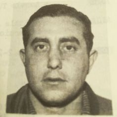 Charles Vincent Trupia (NYC 1923-1949) was a soldier in the Lucchese family and a courier for money and narcotics.  Him visiting Luciano in Rome and getting busted with 6 keys of coke in his luggage was the reason Luciano got kicked out of Rome. Luciano went backto Sicily and was lucky Naples accepted his request to live there. Trupia himself made it back to the US where he was murdered in Harlem while being on bail, 1949.