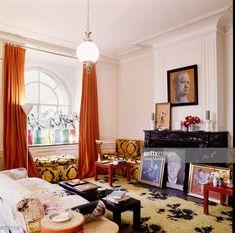News Photo : The New York St. Regis apartment of Cecil Beaton...