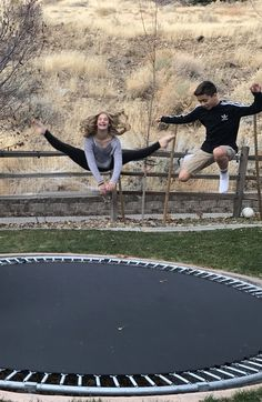 Built in trampoline!!! So cool!!