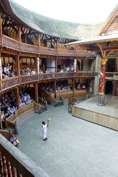 Inside Shakespeare's Globe, London - Ify Egesi in The Globe (c) Amy Murrell Theatre Stage, Globe Theatre, Theater, England National, English Poets, London Christmas, Stage Design, William Shakespeare, The World's Greatest