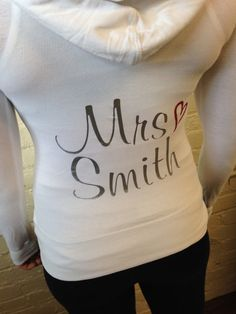Hey, I found this really awesome Etsy listing at https://www.etsy.com/listing/180223322/bride-hoodie-custom-personalized-bride