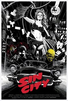 """An old man dies. A young woman lives. A fair trade. 😎🔥 """"Sin City"""" AMP by Kako…"""" Fan Poster, Movie Poster Art, Sin City Comic, 8k Tv, Black White Tattoos, Black Comics, City Tattoo, Color Script, Movie Posters"""